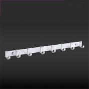 xiuxiandianju Kitchen Furniture Towel BarTowel Racks Rails Stands Coat Racks Rings Bedding & Linens Kitchen Space aluminium hook up kitchen wall Hanging , 5005-8 hook