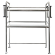 Stainless steel microwave oven rack / kitchen rack / 3-layer oven microwave oven rack / storage 63 long