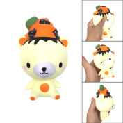 Rcool Creative Stress Reliever Squishy Squeeze Cute Christmas Bear Super Slow Rising Fun Soft Toy Cellphone Key Chain Charm Pendant Strap Kid Gift