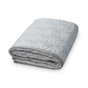 Natural Organic Cotton (Camcam Baby Play Mat and Play Mat Quilted 140 x 200 cm, Grey