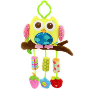 HTTMYY Baby Hanging Toys Bed Cartoon Animal Soft Cart Hang Gift About 21x43cm