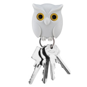 Owl Magnetic Keyrings,Omiky® Wall Mounted Key Chain Holder Xmas Toy Gift for Home Decor