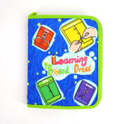Millya Toddler Early Learning Basic Life Skills Learn to Dress Board Book - Zip, Snap, Button, Buckle, Lace & Tie