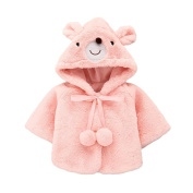 squarex Sunny Baby Boys Girls Bear Ball Warm Winter Tops Casual Clothes Coat