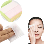 Cotton Pads, 470PCS Face Wipes Soft Cotton Facial Cosmetic Pads Makeup Wipe Nail Art Polish Remover & Box