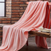 "Super Soft Solid Polyester Blankets , w79"" x l91"""