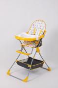 Polini Kids Highchair childchair 252 yellow, 1305-04