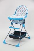 Polini Kids children's highchair 252 baby blue, 1305-01