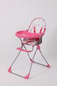 Polini Kids Highchair for Children 152 pink, 1303-02