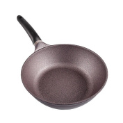 Frying Pan without Oil Smoke Penetration Layer, Durable and Deepening, 30cm Induction Cooker Universal
