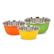 Liuyu Kitchen Home Colourful Stainless Steel Thicker Soup Basin Wash Basins Wash Dish Pots