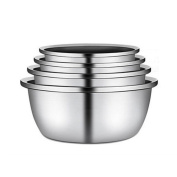 Liuyu Kitchen Home 304 Stainless Steel Soup Basin Home Wash Vegetables Pots Thicker Fight The Egg Pot Fruit Pots Cooking Pots