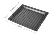Barbecue accessories do not stick fry pan pan 30 * 25cm