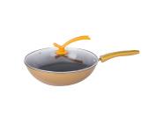 Wok Non-Stick Smoke-Free Pan Fine Iron Cover Universal Cooking Pot 32cm SuJi
