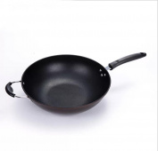 No Stick Wok Cooker without Electromagnetic Cooker for Fine Iron Non Stick Pot