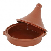 Moroccan Tagine Pot Traditional Round Terracotta Cookware With Lid