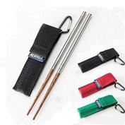 Welim Chopsticks Wood Chopsticks Folding Chopsticks Lightweight Chopsticks Reusable Chopsticks Suitable for outdoor picnics and so on