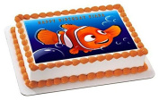 NEMO 2 Edible Birthday Cake OR Cupcake Topper - 2.3m x 3m rectangular inches