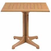 60cm x 80cm Outdoor Table Top Only No Umbrella Hole - Teak Decor - Lot of 4
