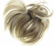 New Style Hair Extension Scrunchie Natural Blonde Up Do Down Do Mult Tones Spiky Twister