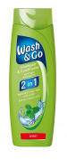 Wash & Go 2 in 1 Sport Shampoo and Conditioner X 9 bottles