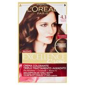 L 'Oréal Paris Excellence Creme Cream Dye 4.3 Golden Brown