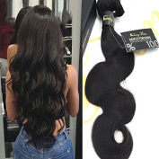 Sunny Top Quality 1 Bundle 60cm Body Wave Weave Hair Extensions 100% Brazilian Virgin Human Hair Weft Natural Colour 100g