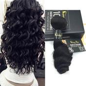 Sunny 30cm - 70cm High Quality 100% Brazilian Virgin Human Hair Weave Natural Colour Loose Wave Hair Extensions 1 Bundle 50cm 100g