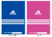 Butterfly / notebook / MITSUBISHI PENCIL / stationery / stationery / Shinnyu study to do all two colours of Adidas _adidas_ dom book (B5 size) A01-200J AI blue (blue A01200JAI.33) pink