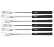Spring Basic 2890290606 Cheese Fondue Forks Set of 6 Black