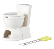 Chocolate fondue fork with only SAN2168 of the form of interesting tableware [series] urinal