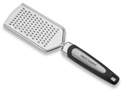 Stainless Steel Cheese Grater And Shredder Razor Sharp Blades - Ideal For Hard Fruit, Root Vegetables, Nuts, Parmesan, Cheese, Lemon, Ginger, - With Easy Grip Long Handle – By Kitch N' Wares