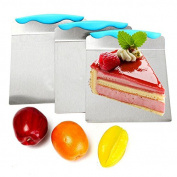 Cake Lifter,Auykoop Stainless Steel Cake Pizza Transfer Cake Shovel Baking Tools