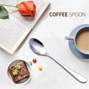 Long Handled Stainless Steel Coffee Spoon Ice Cream Tea Spoon Kitchen