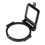 Zhhlinyuan Camera Accessories Clamshell Waterproof Housing Shell Cover Adapter Ring 58mm for Hero4 Hero3+