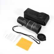 Portable High-powered 40 x 60 HD Night Vision Focusing Monocular Telescope for Hunting, Camping, Bird Watching