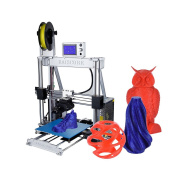 Aibecy Self-assembly 3D Printer Aluminium Alloy Frame 210 * 210 * 225mm Print Size Supports 1.75mm ABS/ PLA/ Wood/ Nylon/ PVA/ PP Filament