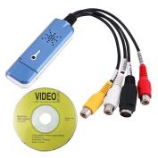 SummerYoung USB 2.0 Converter Audio Video Grabber Capture Adapter for Computer NTSC PAL