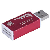Pochers® USB 2.0 All In One Multi Memory Card Reader