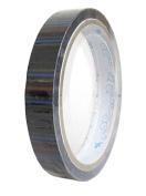 Cute Deco Tape black with colourful stripe