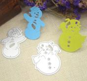 Janly® 16 Style Snowflake Cutting Dies Christmas Metal Cutting Dies Stencils for DIY Die Cut Stencil Decorative Scrapbooking Craft Temp