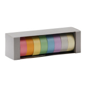 Spectrascope pastel washi tapes - set of 8