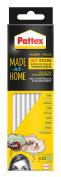 "Pattex 5187760cm Made At Home"" Hot Glue Sticks, White"