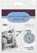 SCRAPBOOK ADHESIVES BY 3L Creative Paper Photo Corners, Silver