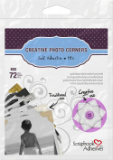 SCRAPBOOK ADHESIVES BY 3L Creative Paper Photo Corners, multicolour