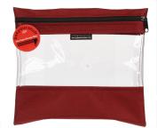 Lyle Enterprises SYSB2-CRD See Your Stuff Bag, 25cm x 28cm , Cardinal