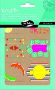 """Maildor Krafty Kitchen """"Candy"""" Cooking Labels, Multi-Colour, Pack of 4"""
