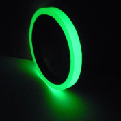 Luminous Tape Sticker,3m Removable Waterproof Glow in the Dark Green Light Safety Tape