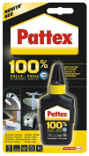 Pattex Gr. 50 – PATTEX Universal Adhesive Glue 100% of New protection. Suitable for all materials. Yield 230 g/mq. in Blister.