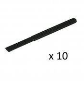 Proops 10x Black 3.8cm x 0.8cm Flexible End Plastic Glue Spreaders Craft PVA Spatula (S7636) Free UK Postage.